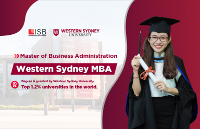 Admission of Master of Business Administration Western Sydney MBA in 2021