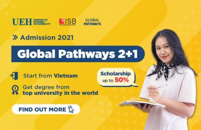 Admission to Global Pathways Program 2021